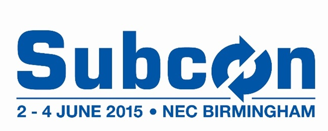 Subcon event 2015 – There is still time for you to register, contact us for your free pass Darian Global Sourcing