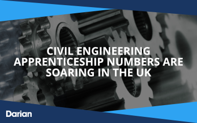 Civil engineering apprenticeship numbers are soaring in the UK