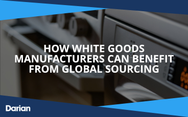 How white goods manufacturers can benefit from global sourcing