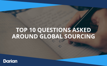 Top 10 questions asked around global sourcing