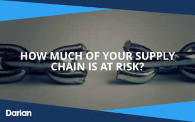 How much of your supply chain is at risk